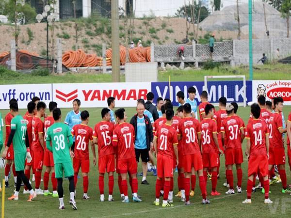 Bóng đá Việt Nam ngày 18/5: Đội tuyển Việt Nam đấu tập U22