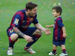 Con trai Messi: 3 cậu con trai mỗi người một cá tính