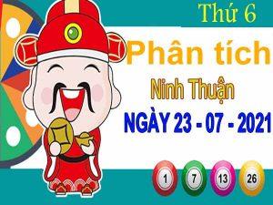 Phân tích XSNT ngày 23/7/2021 – Phân tích KQ Ninh Thuận thứ 6 chuẩn xác